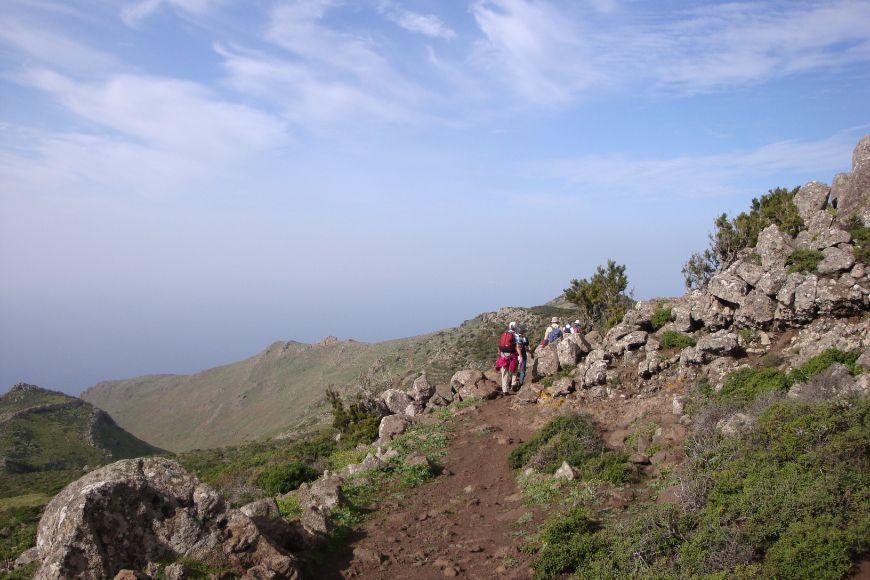Tenerife mountain path