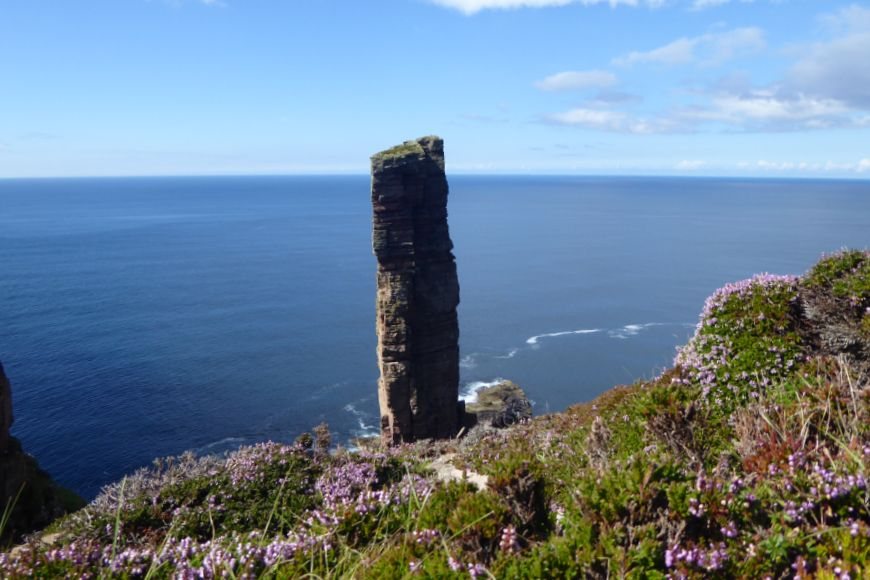 Orkney sea stack